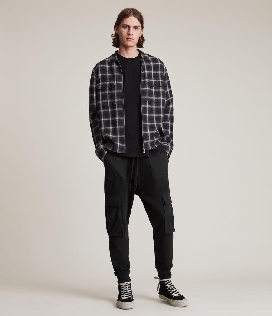 Men's Ash Cuffed Slim Sweatpants (black) - Image 1
