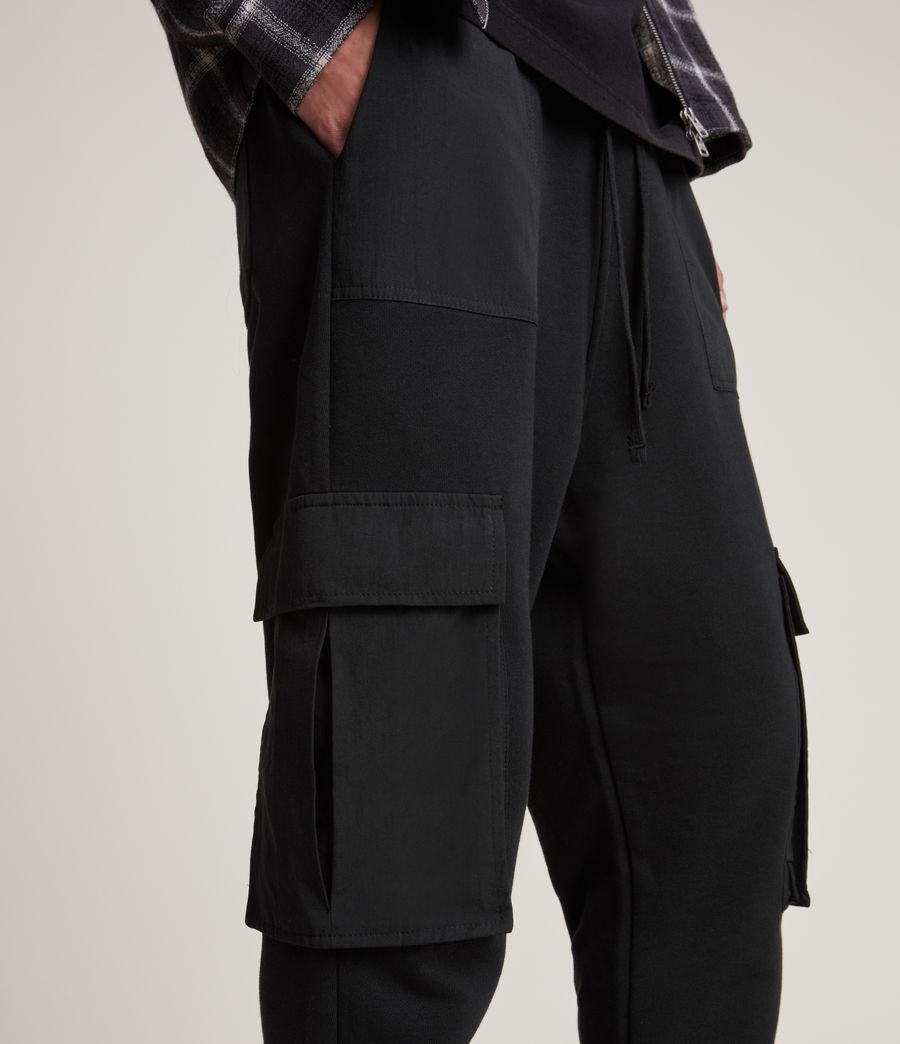 Men's Ash Cuffed Slim Sweatpants (black) - Image 3