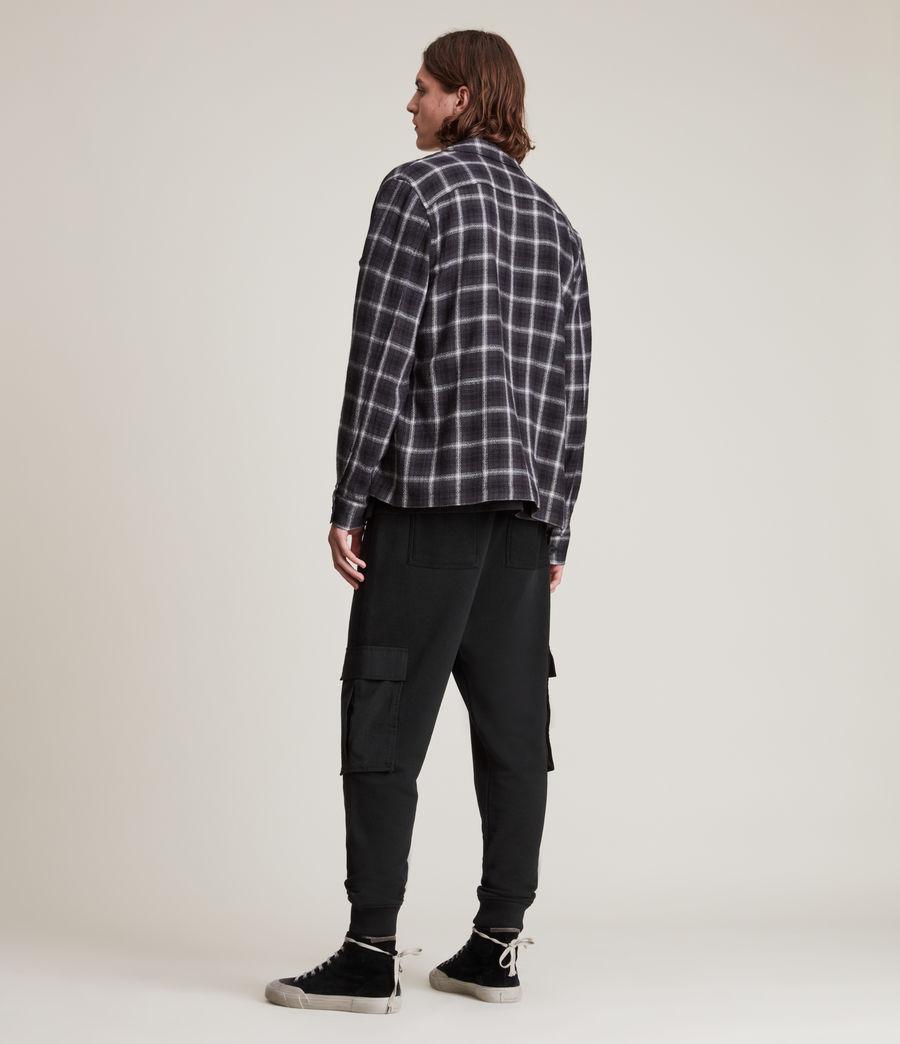Men's Ash Cuffed Slim Sweatpants (black) - Image 4