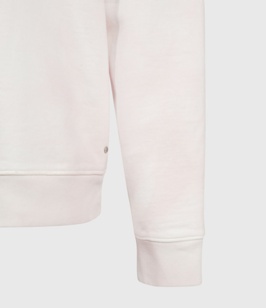 Herren Kyle Tie Dye Crew Sweatshirt (chalk_white_pink) - Image 4