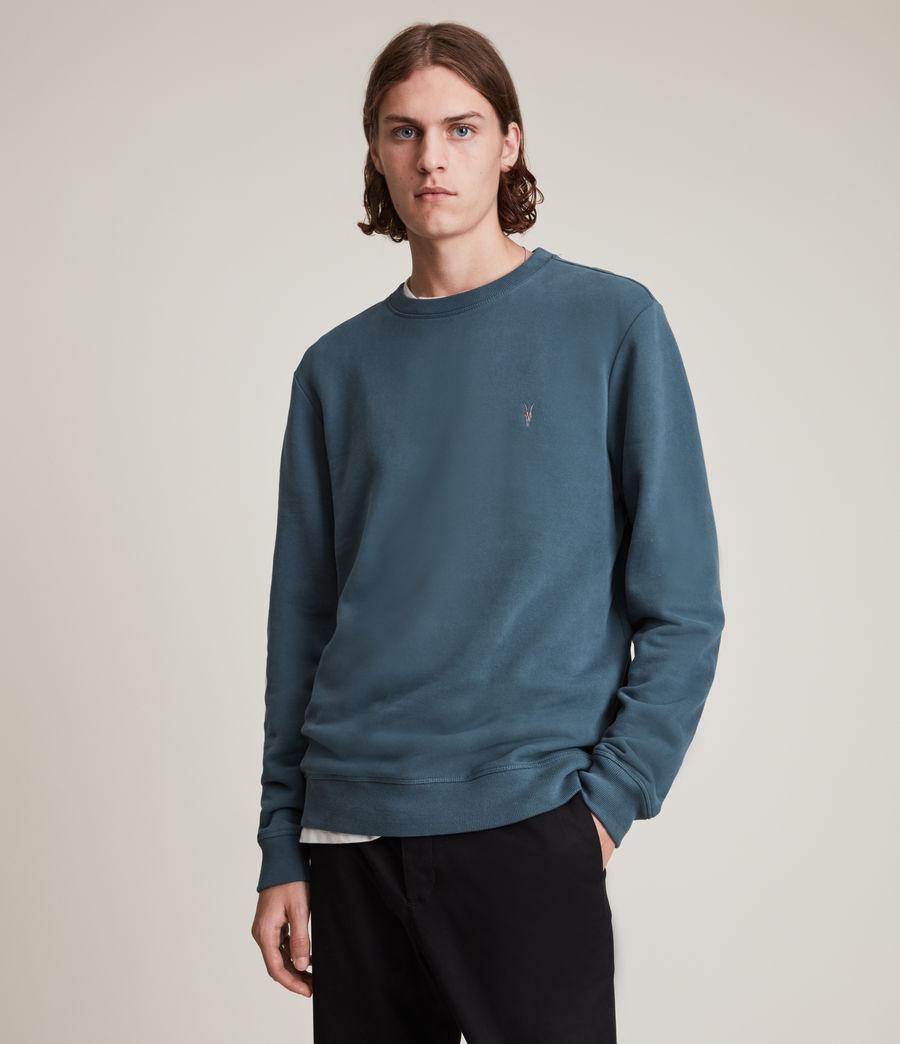 Herren Raven Crew Sweatshirt (adventurer_blue) - Image 1