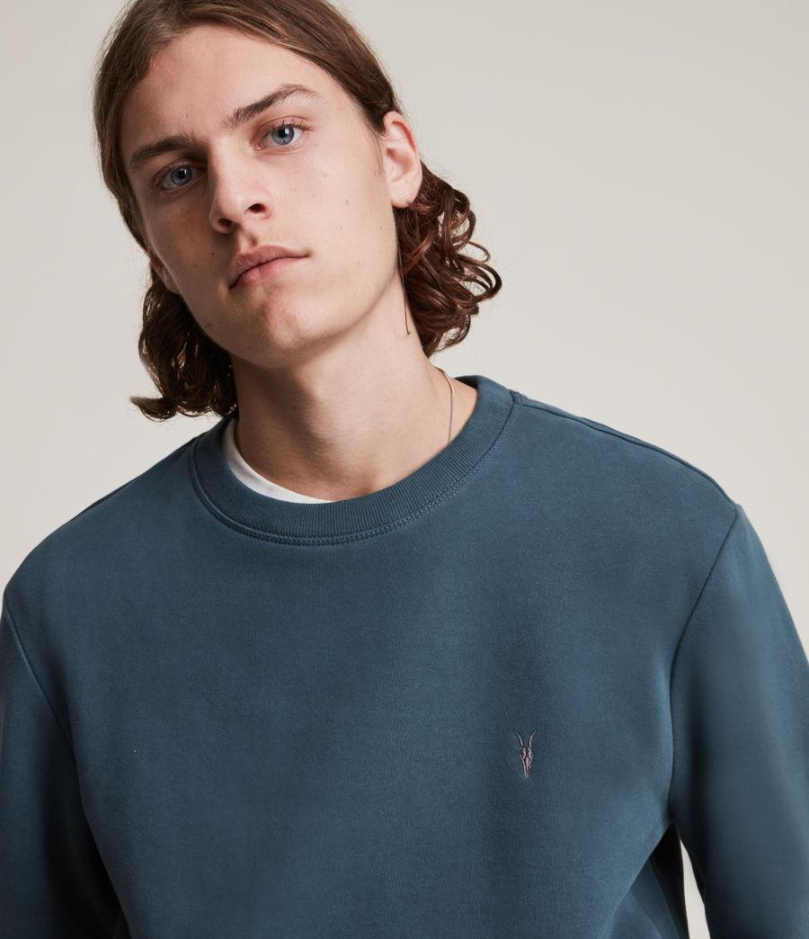 Herren Raven Crew Sweatshirt (adventurer_blue) - Image 2