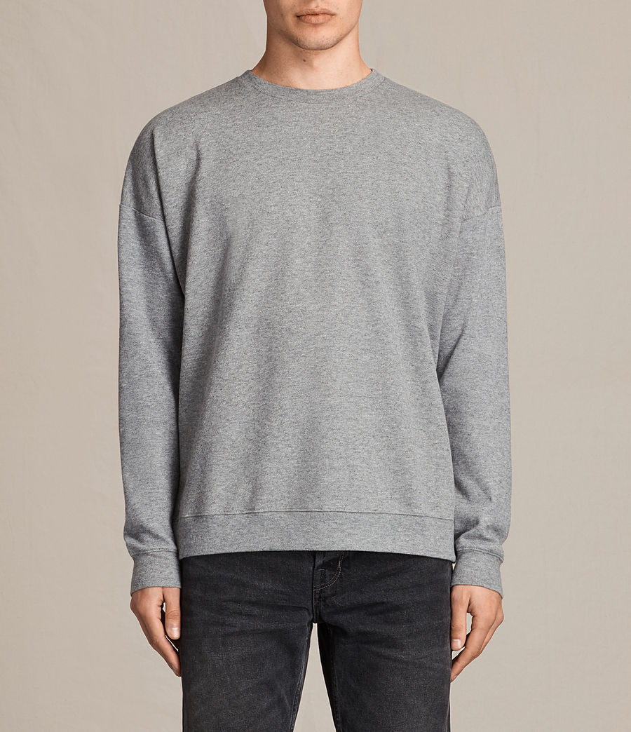 Hommes Sweat Lasher (charcoal_marl) - Image 1