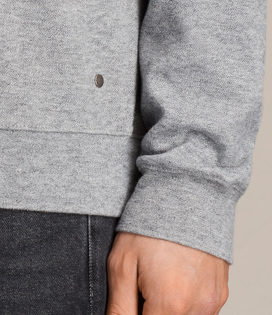 Hommes Sweat Lasher (charcoal_marl) - Image 2