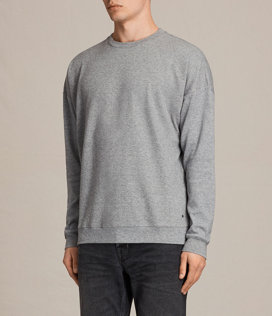 Hommes Sweat Lasher (charcoal_marl) - Image 3
