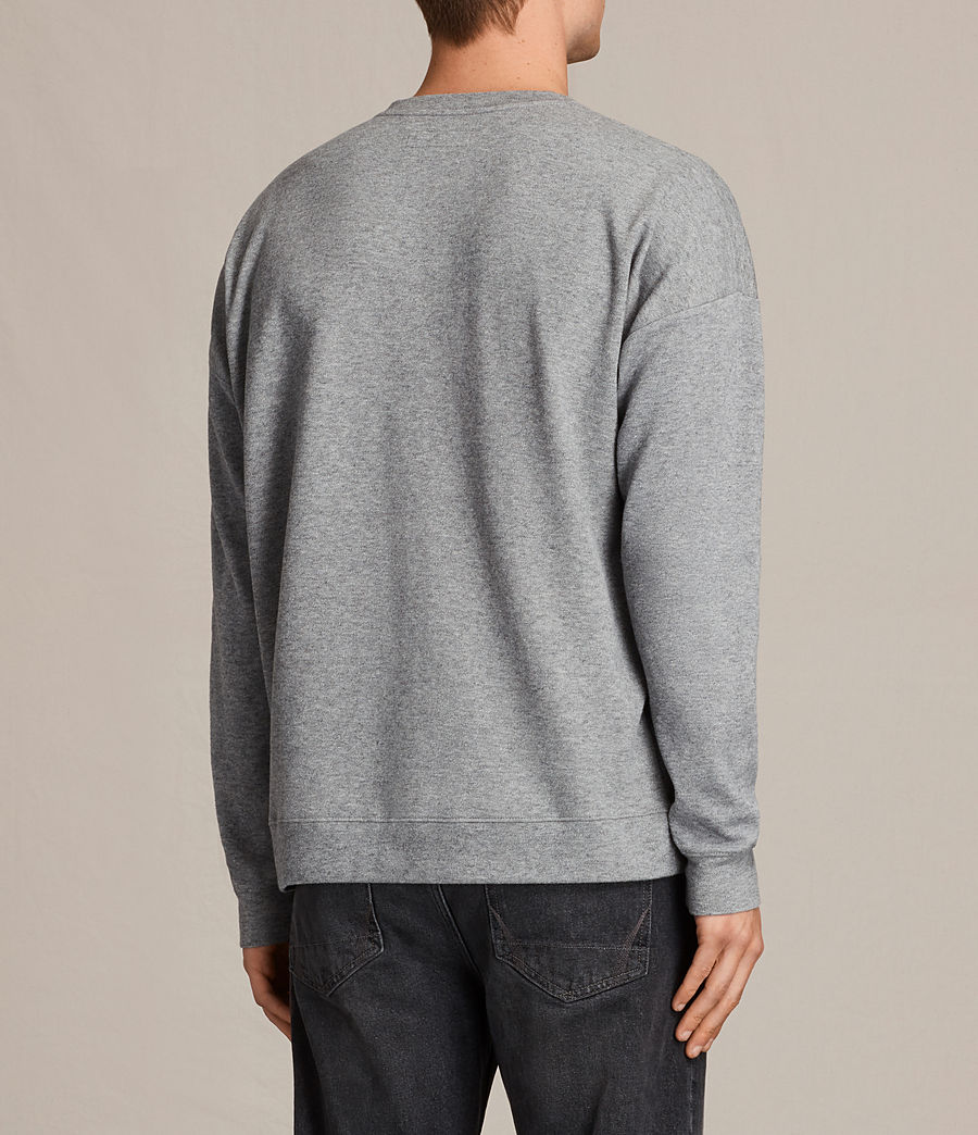 Hommes Sweat Lasher (charcoal_marl) - Image 4