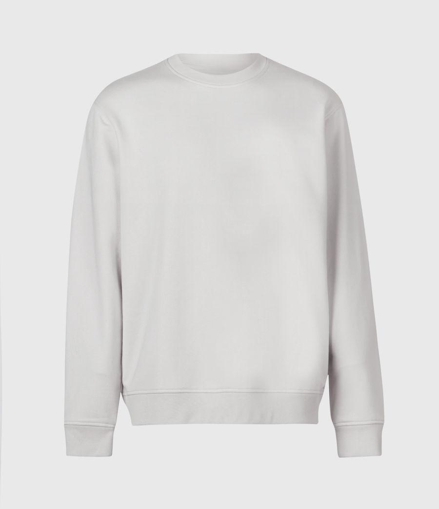 Men's Helix Crew Sweatshirt (bleached_grey) - Image 2