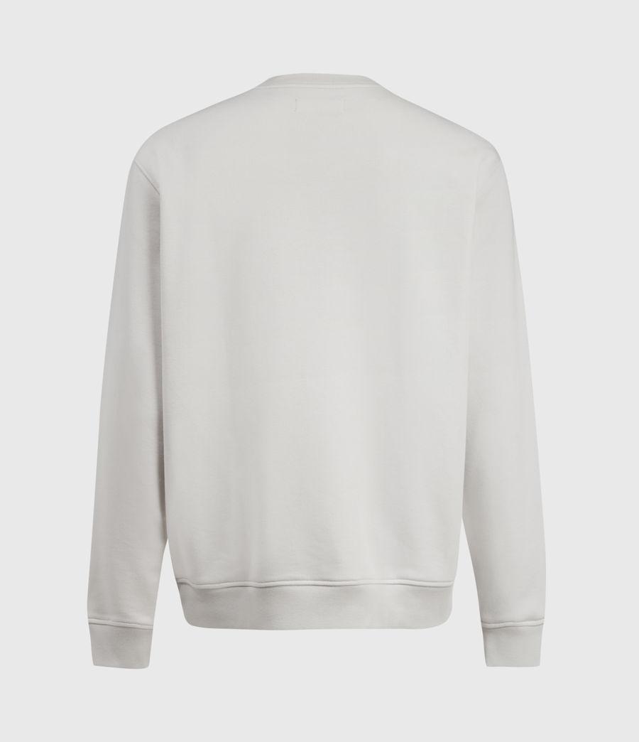 Men's Helix Crew Sweatshirt (bleached_grey) - Image 3