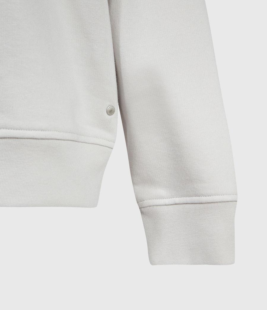 Mens Helix Crew Sweatshirt (bleached_grey) - Image 4