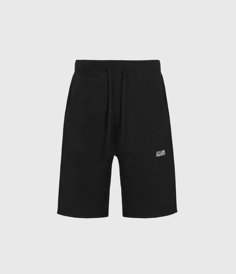 Mens State Sweat Shorts (jet_black) - Image 2