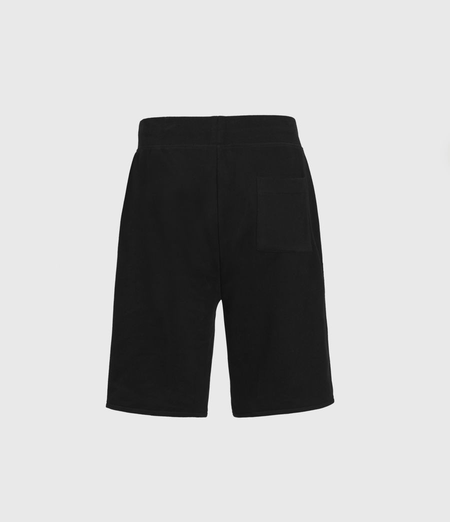 Mens State Sweat Shorts (jet_black) - Image 3