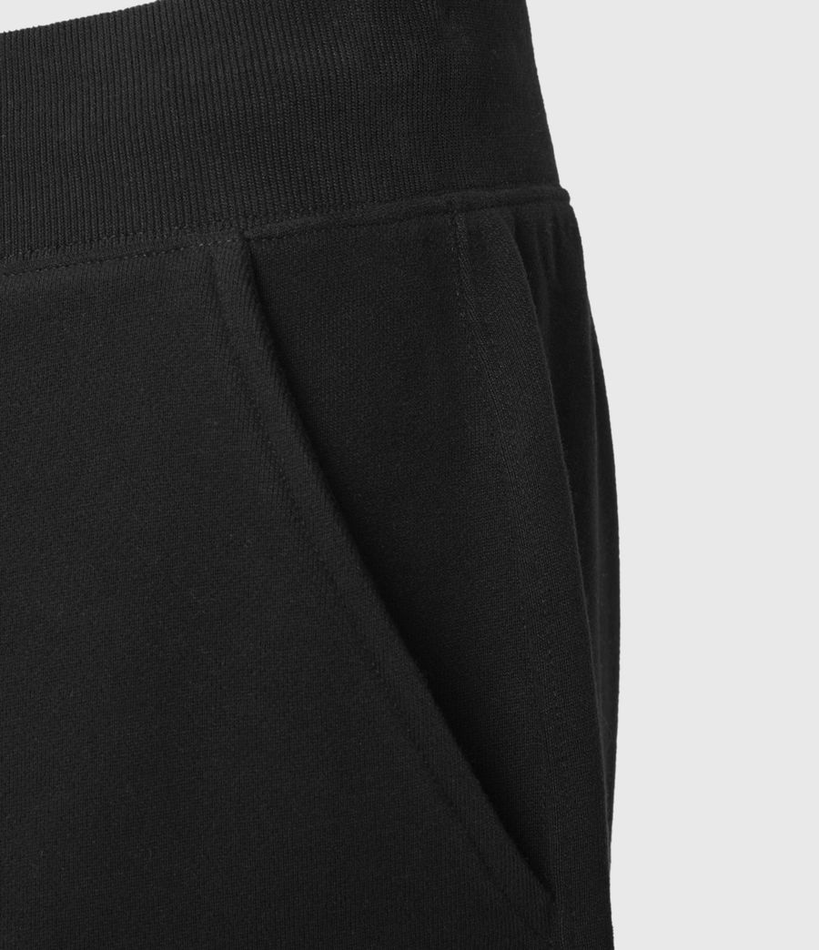 Mens State Sweat Shorts (jet_black) - Image 5