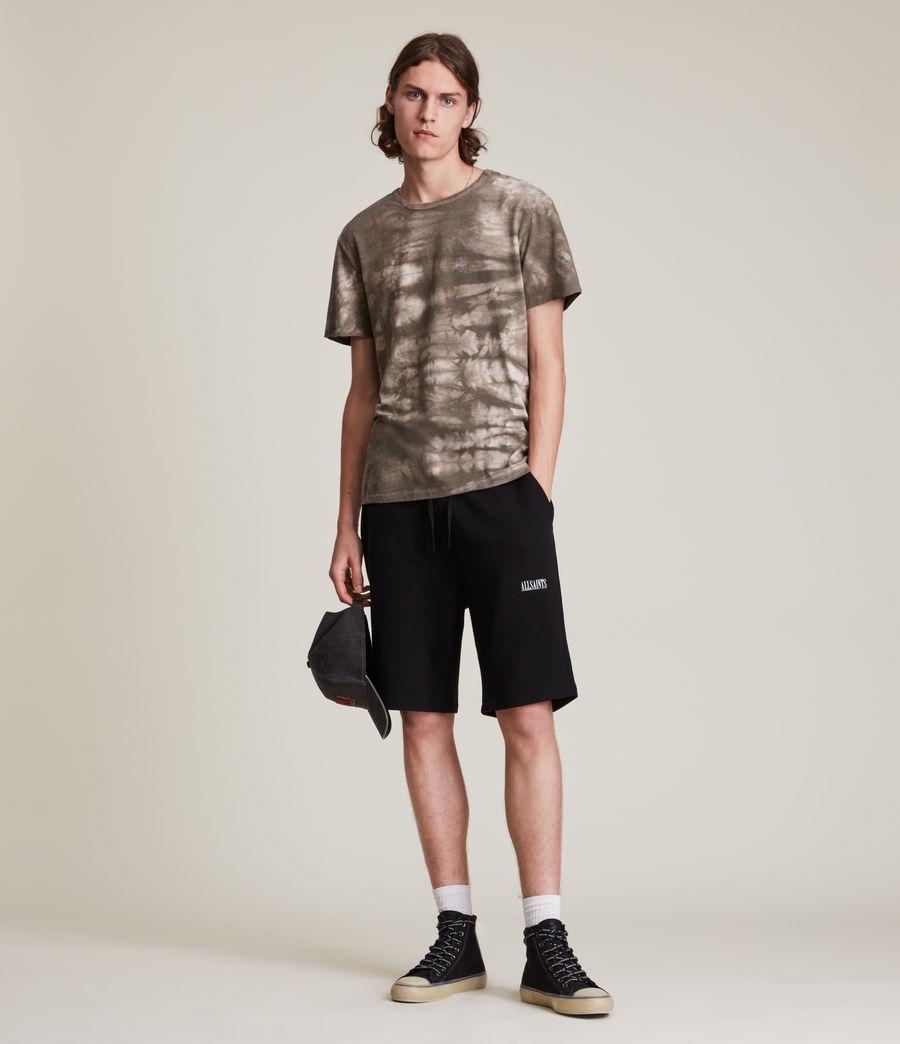 Men's State Sweat Shorts (black) - Image 1