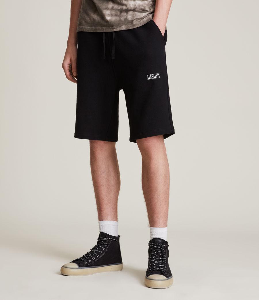 Men's State Sweat Shorts (black) - Image 2