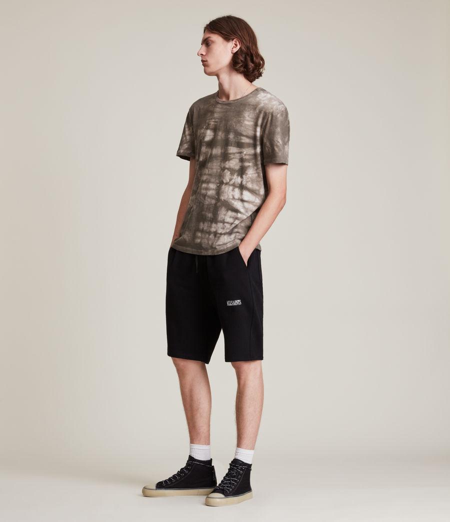 Men's State Sweat Shorts (black) - Image 3