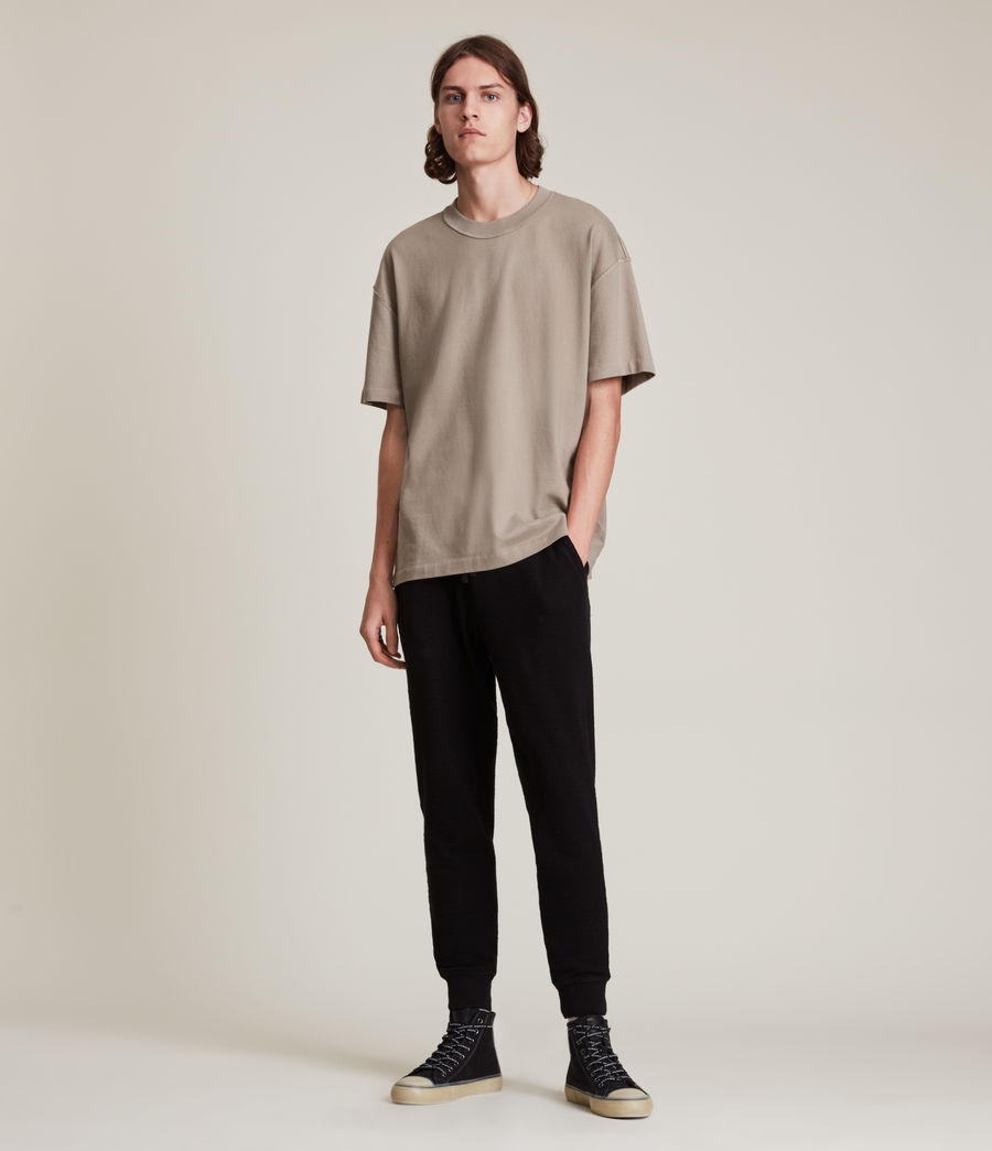 Men's Muse Cuffed Slim Sweatpants (jet_black) - Image 1