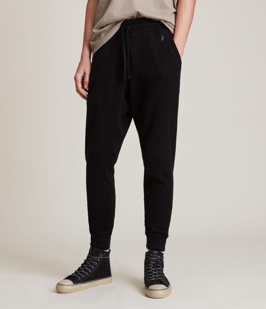 Men's Muse Cuffed Slim Sweatpants (jet_black) - Image 2