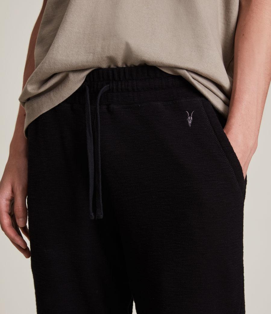 Men's Muse Cuffed Slim Sweatpants (jet_black) - Image 3