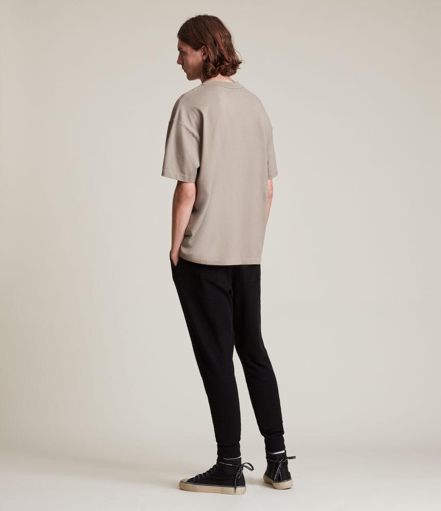 Men's Muse Cuffed Slim Sweatpants (jet_black) - Image 4