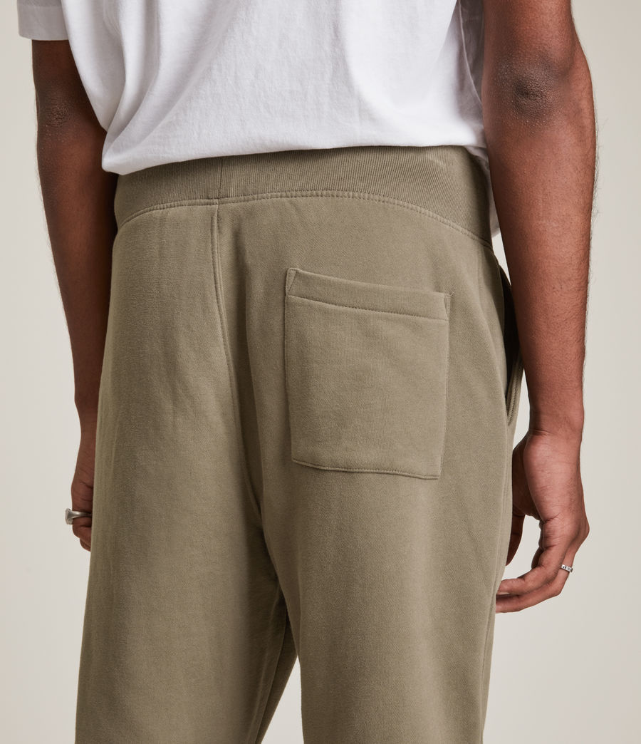 Mens Raven Cuffed Slim Sweatpants (peppered_brown) - Image 5