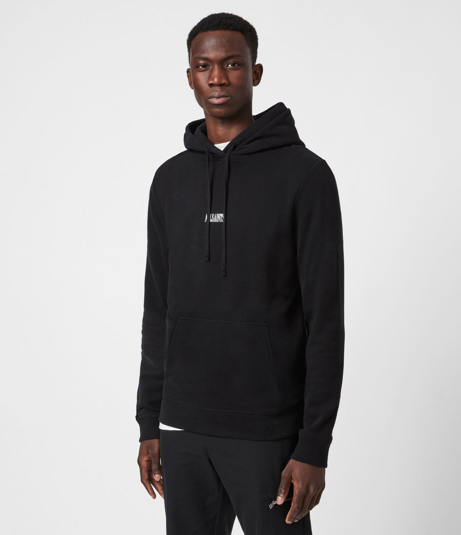 Men's State Pullover Hoodie (black) - Image 1