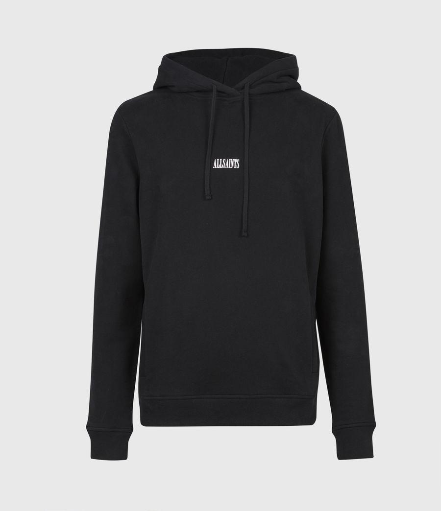 Mens State Pullover Hoodie (black) - Image 2