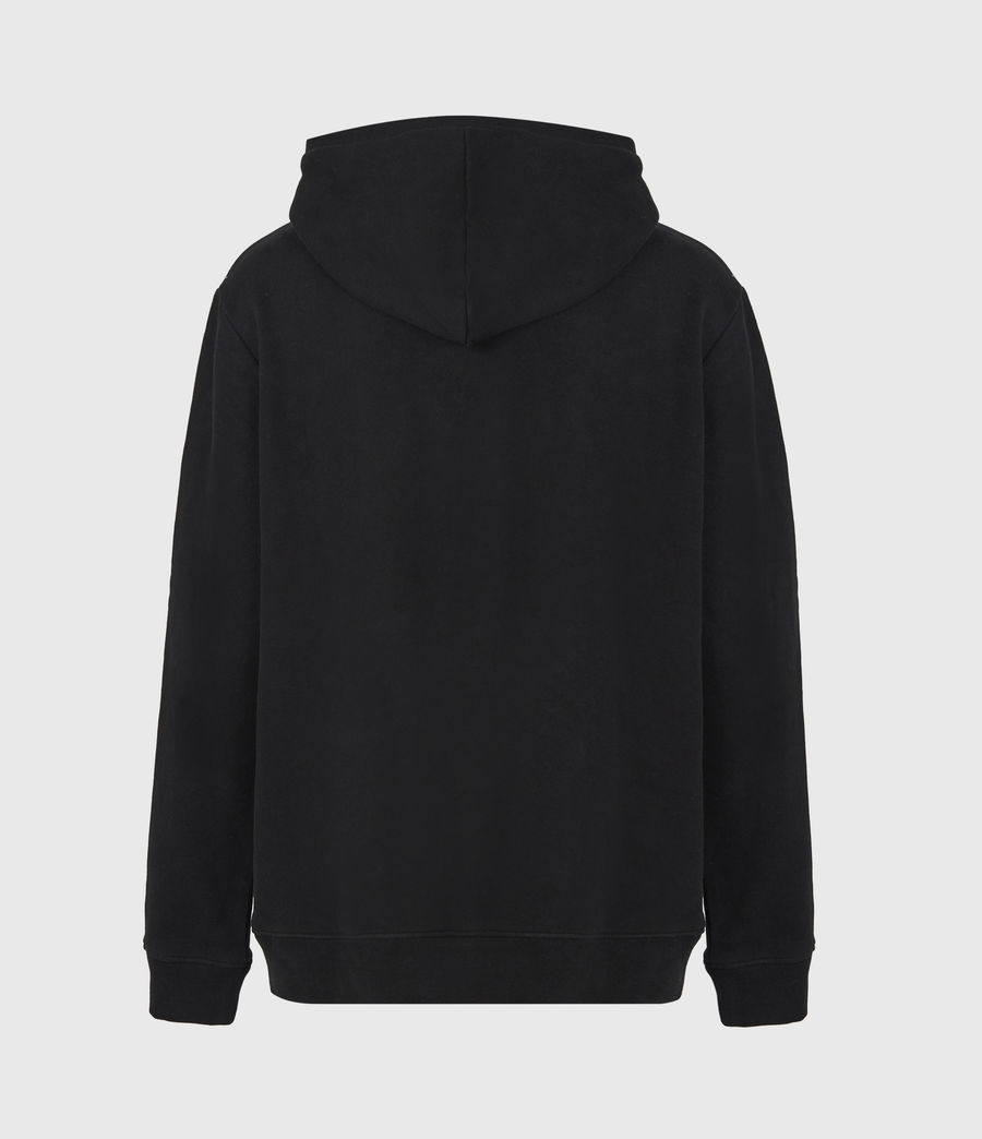 Mens State Pullover Hoodie (chalk_white) - Image 3