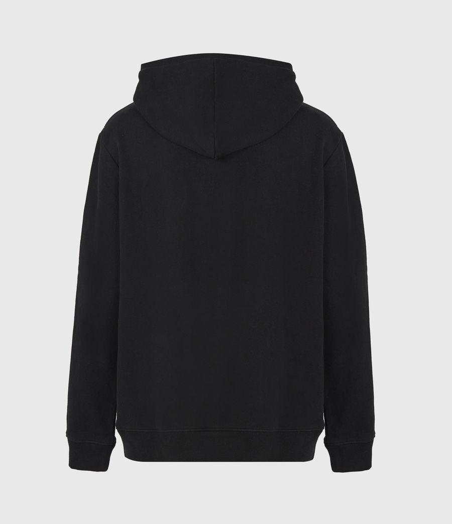 Mens State Pullover Hoodie (black) - Image 3