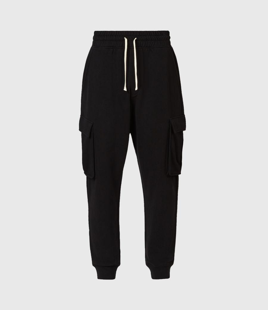 Men's Ellis Cuffed Sweatpants (jet_black) - Image 2
