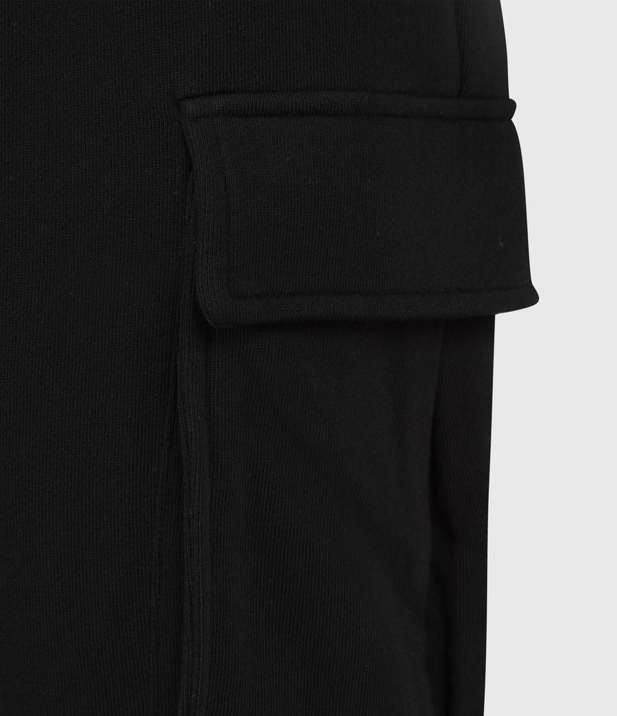 Men's Ellis Cuffed Sweatpants (jet_black) - Image 6