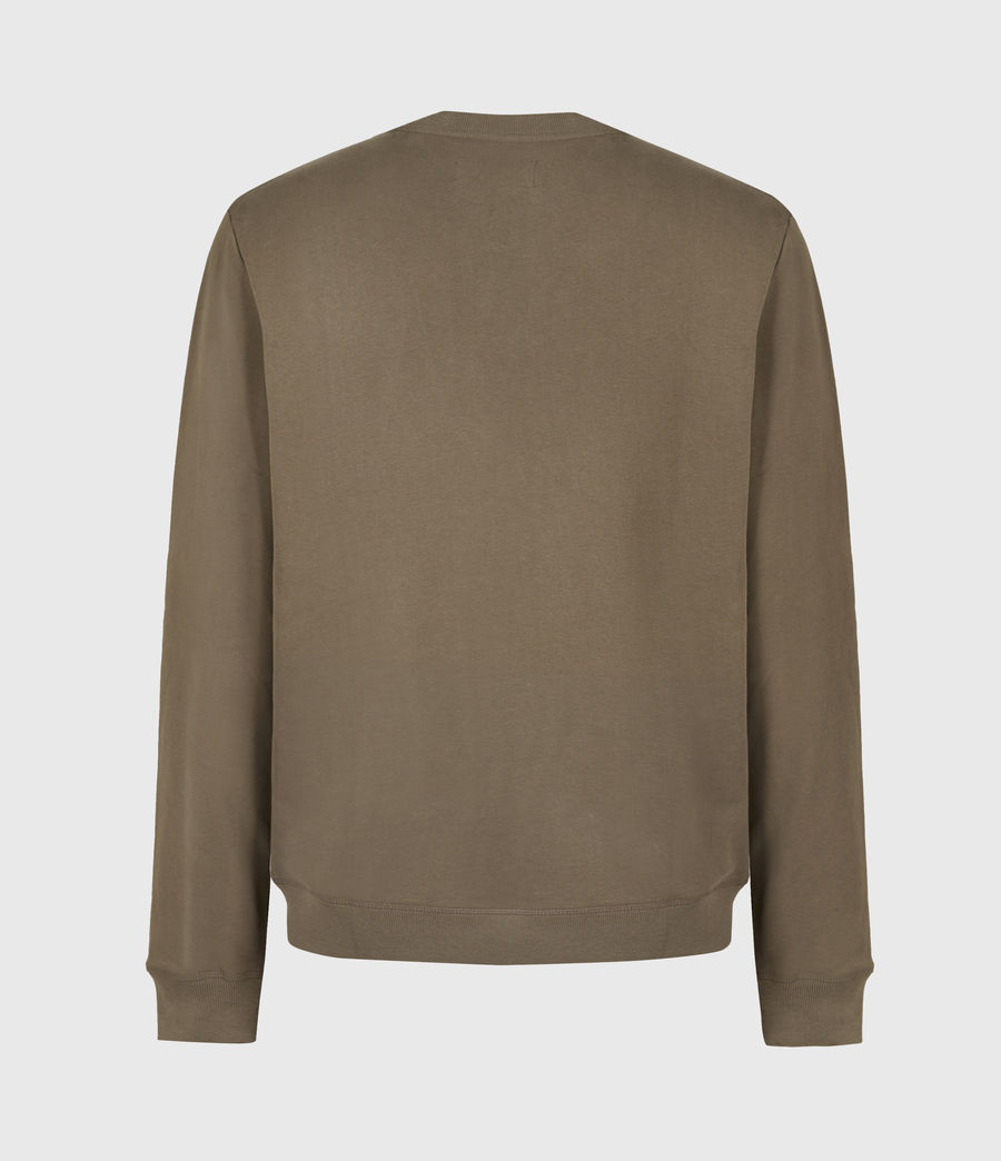Mens Raven Sweatshirt (mangrove_brown) - Image 3