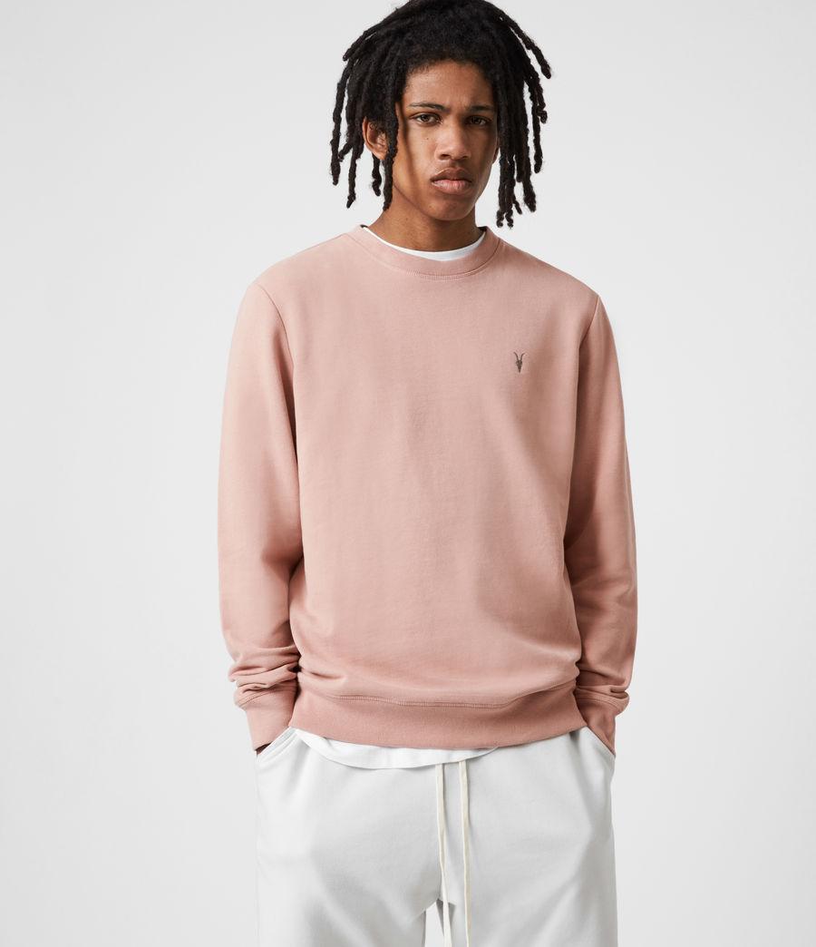 Men's Raven Crew Sweatshirt (balsastone_pink) - Image 1