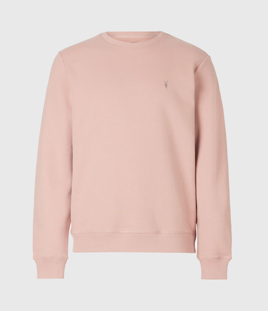 Men's Raven Crew Sweatshirt (balsastone_pink) - Image 2