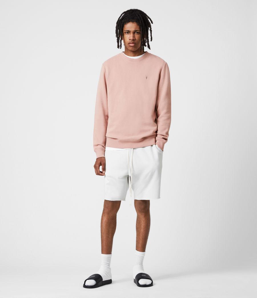 Men's Raven Crew Sweatshirt (balsastone_pink) - Image 4