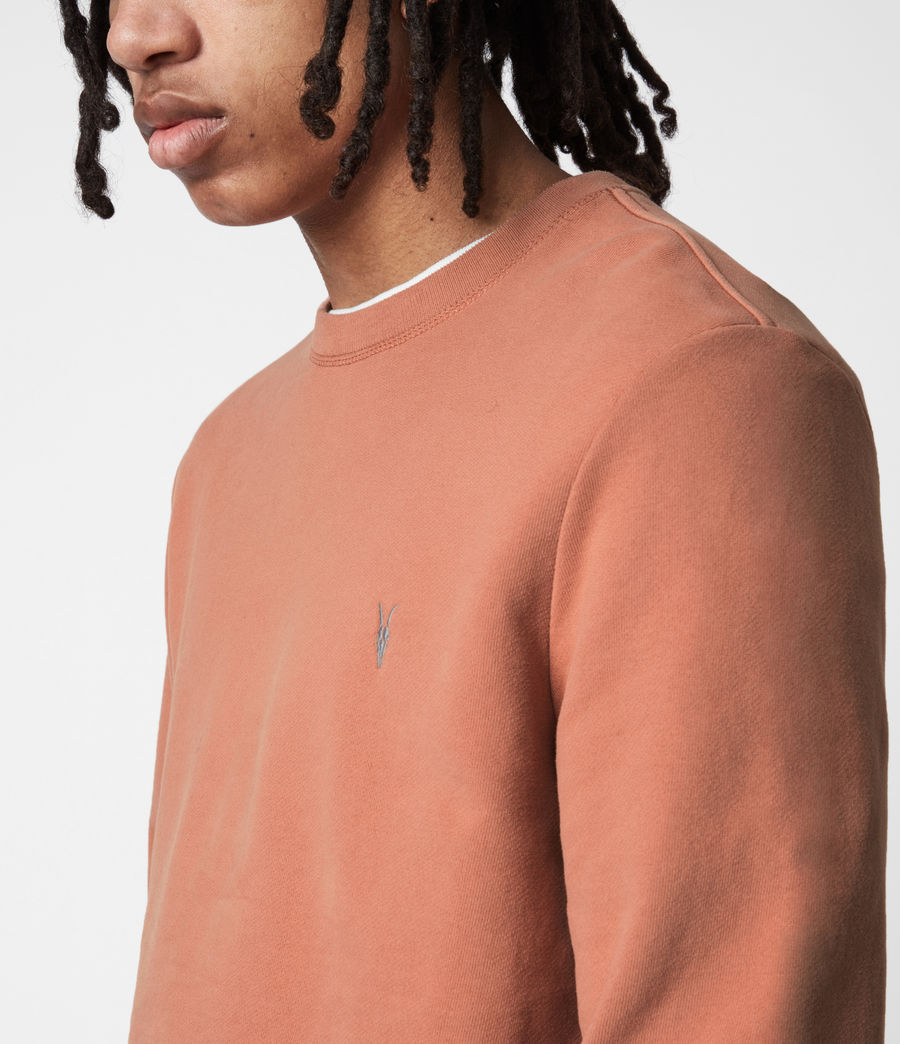 Herren Raven Crew Sweatshirt (desert_rose_pink) - Image 4
