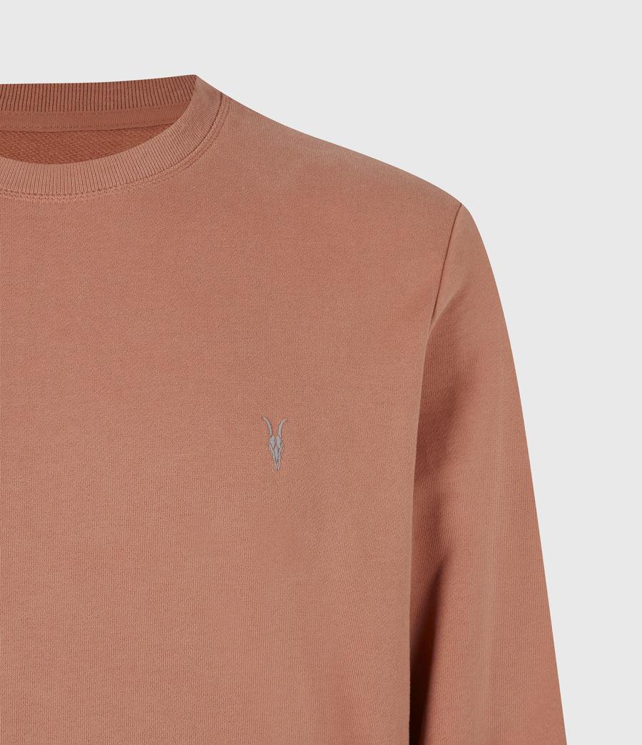Herren Raven Crew Sweatshirt (desert_rose_pink) - Image 5