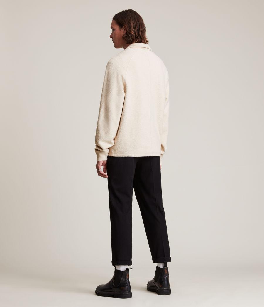 Men's Rafe Half Zip Polo Shirt (baron_taupe) - Image 4