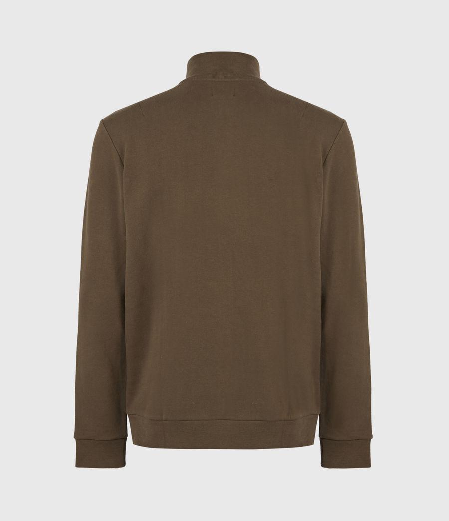 Herren Raven Reißverschluss Kragen Sweatshirt (totem_brown) - Image 3