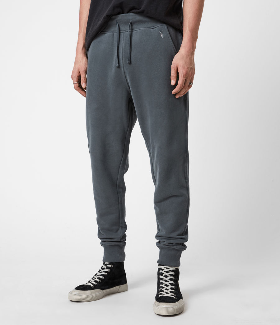 Men's Raven Cuffed Slim Sweatpants (mercer_green) - Image 4