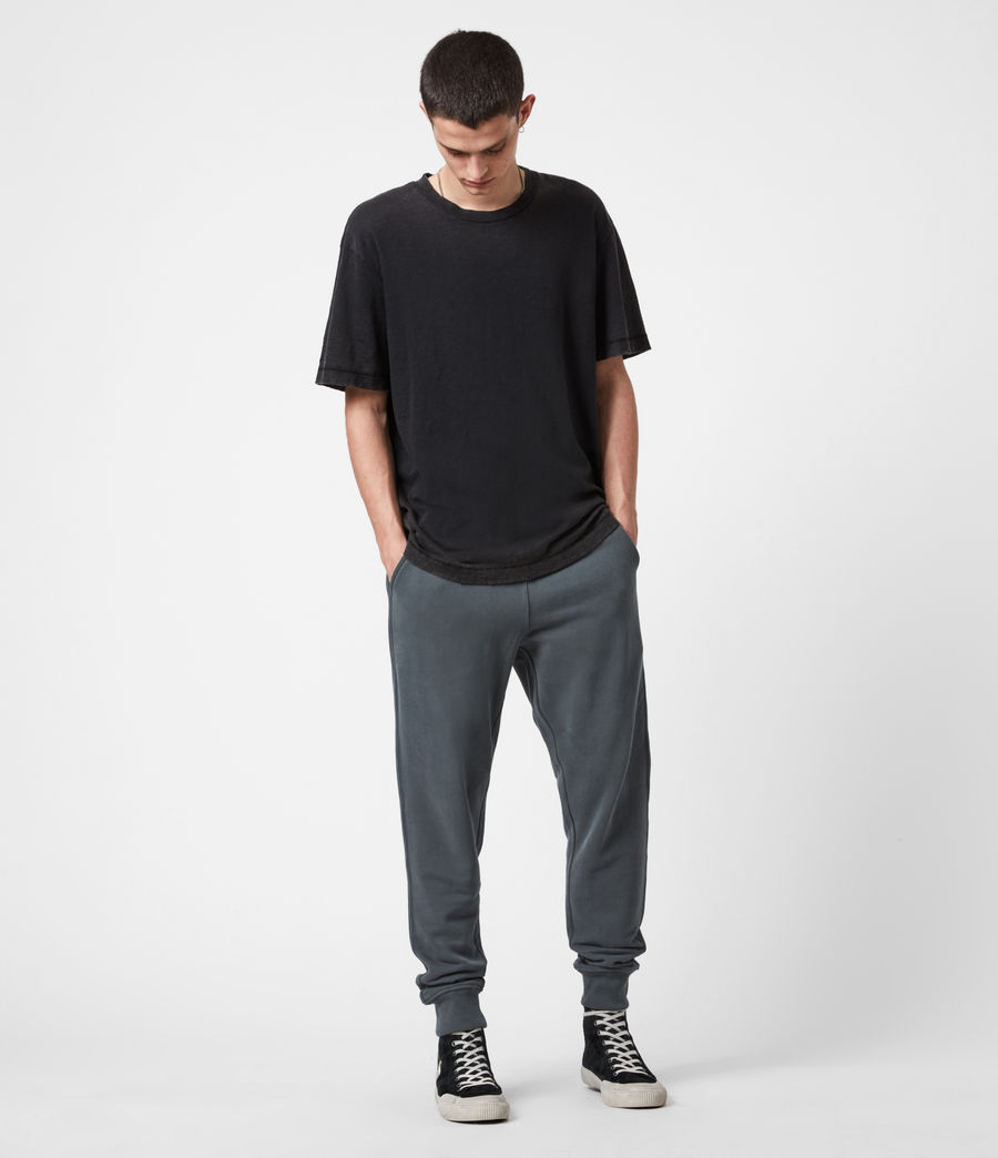 Men's Raven Cuffed Slim Sweatpants (mercer_green) - Image 7