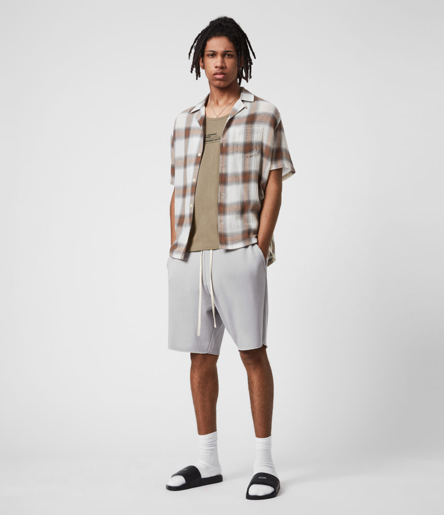 Men's Helix Sweat Shorts (heath_grey) - Image 1