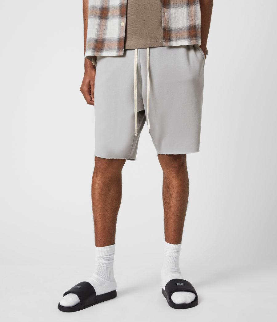Men's Helix Sweat Shorts (heath_grey) - Image 4