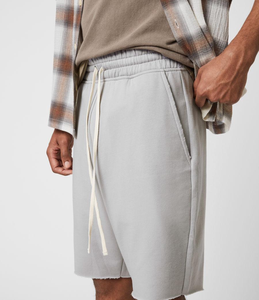 Men's Helix Sweat Shorts (heath_grey) - Image 6