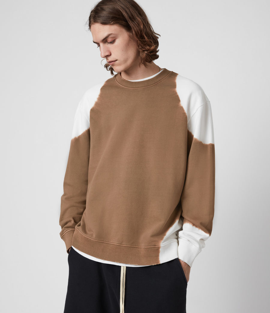 Men's Karter Crew Sweatshirt (alpine_brown) - Image 1
