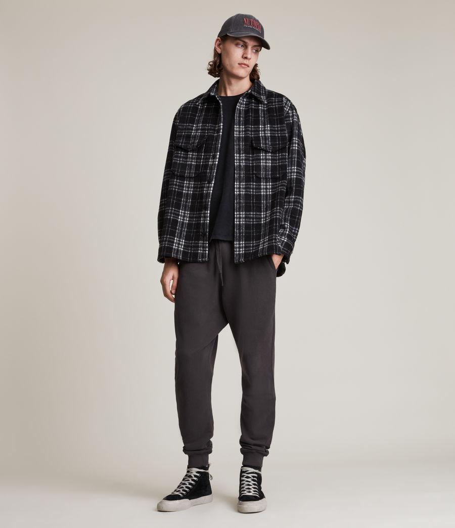 Men's Ollie Cuffed Slim Sweatpants (washed_black) - Image 1