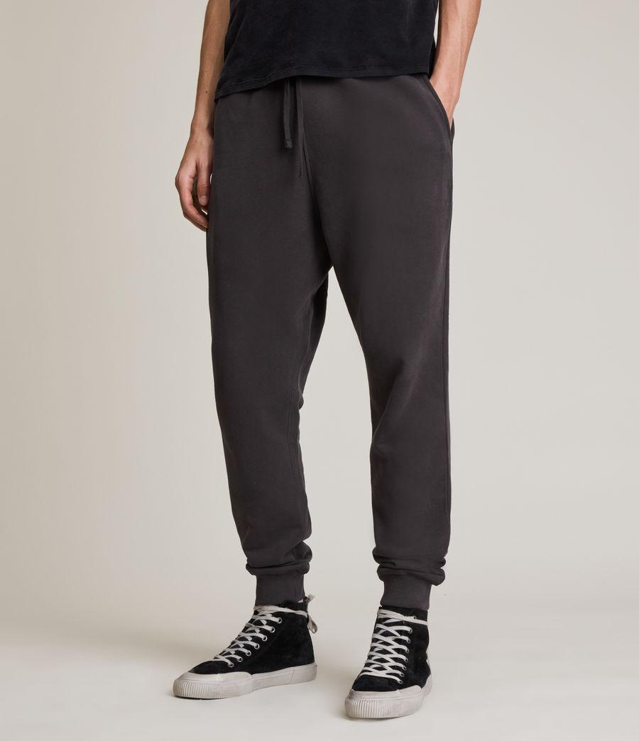 Men's Ollie Cuffed Slim Sweatpants (washed_black) - Image 2