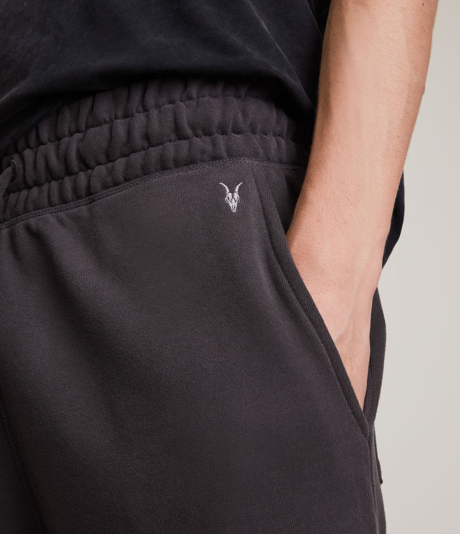 Men's Ollie Cuffed Slim Sweatpants (washed_black) - Image 3
