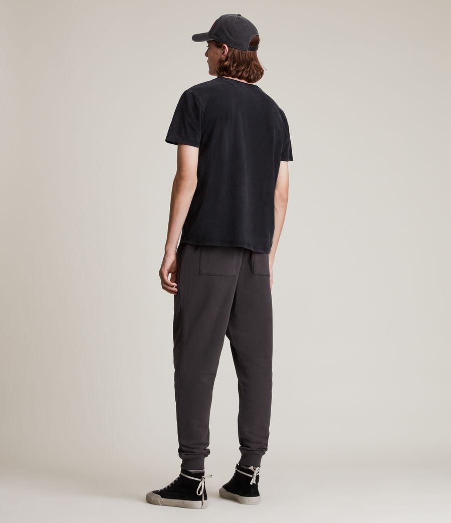 Men's Ollie Cuffed Slim Sweatpants (washed_black) - Image 4