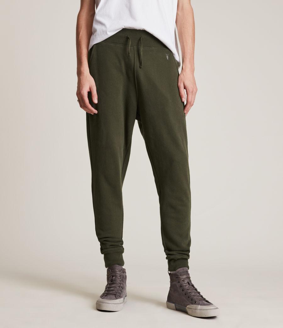 Herren Raven Cuffed Slim Sweatpants (marsh_green) - Image 2