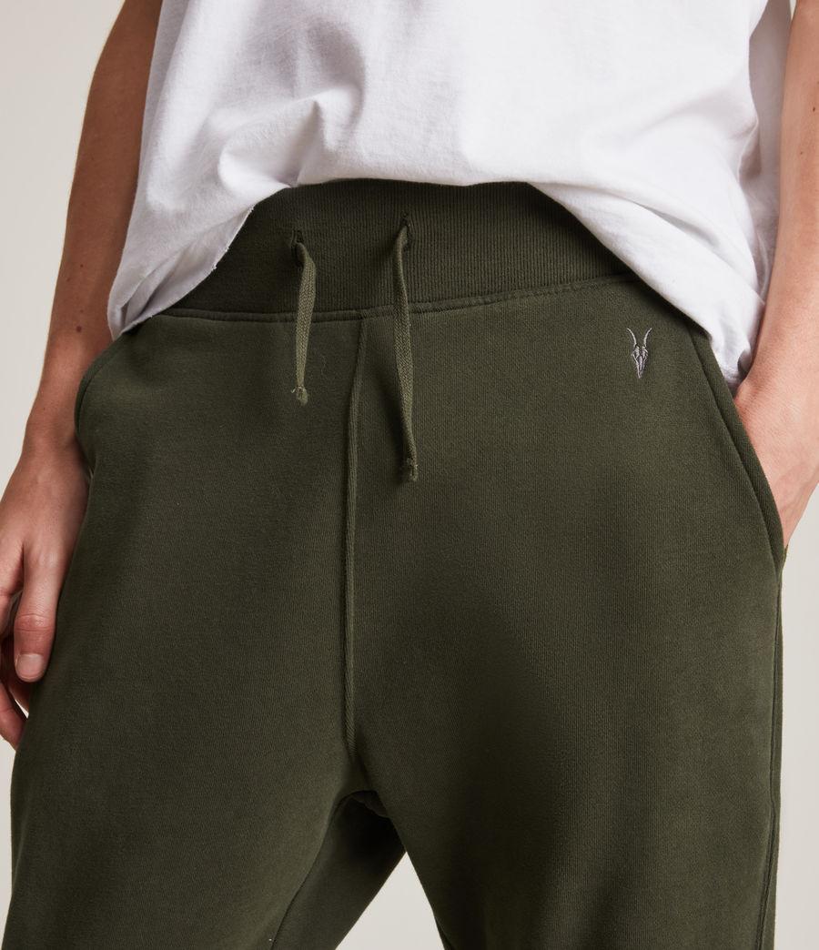 Herren Raven Cuffed Slim Sweatpants (marsh_green) - Image 3
